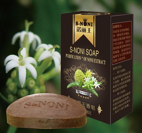 诺丽王-诺丽香皂强力清除脸部